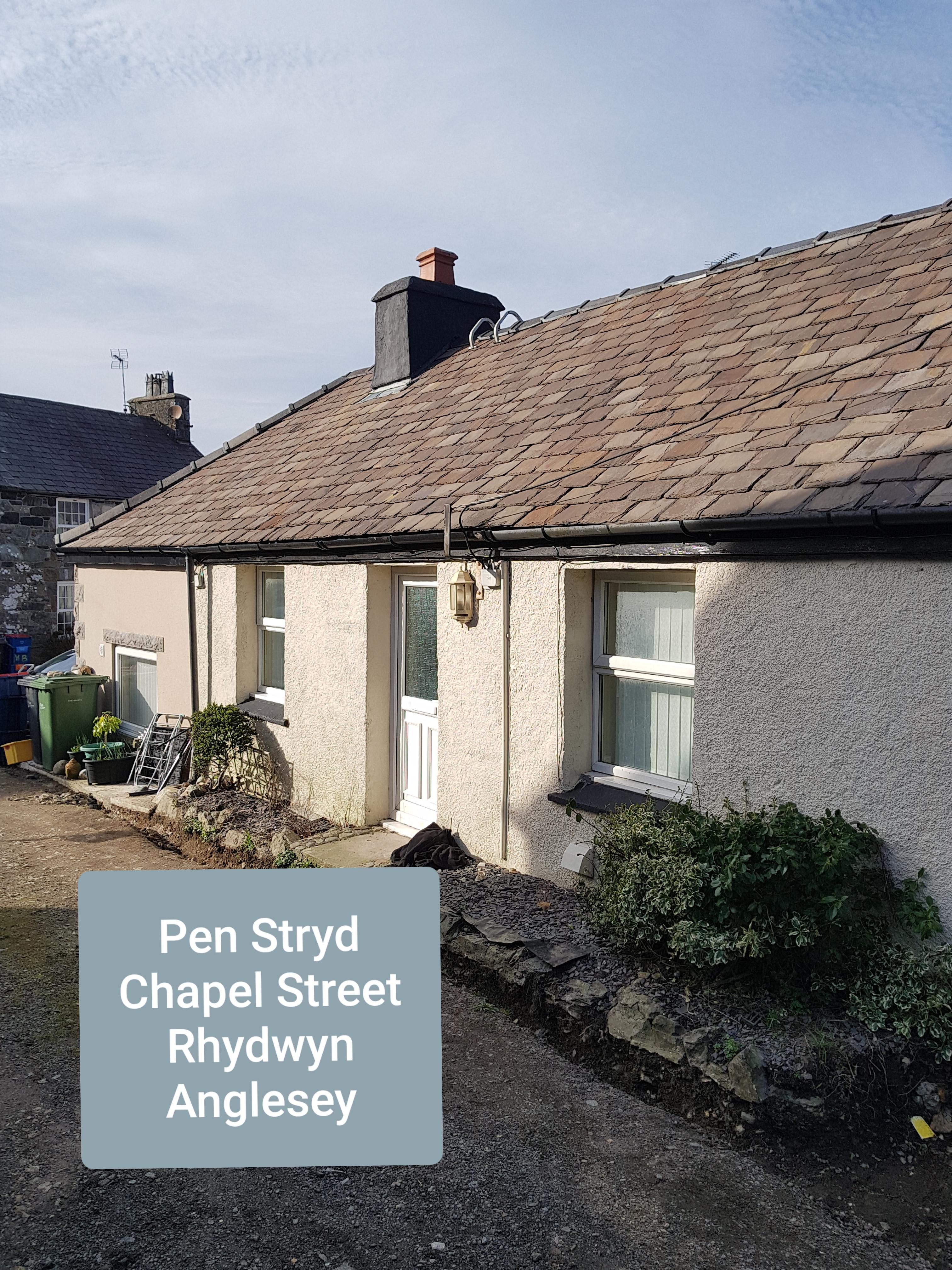 Pen Stryd, Chapel Street, Rhydwyn, Anglesey. LL65 4EB